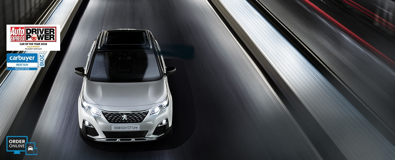 Peugeot 3008 SUV GT Line Car of the year