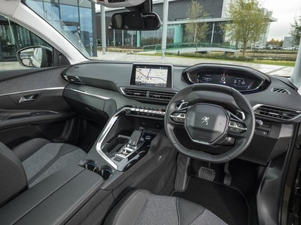 new 3008 suv i-cockpit technology award