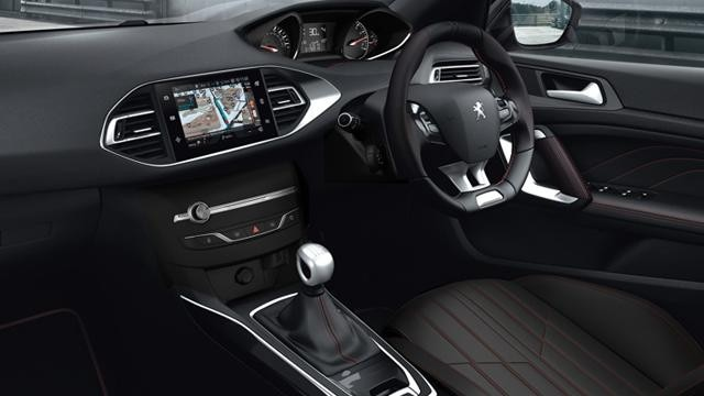 new peugeot 308 gt line interior