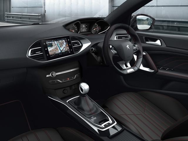 new peugeot 308 gt line interior