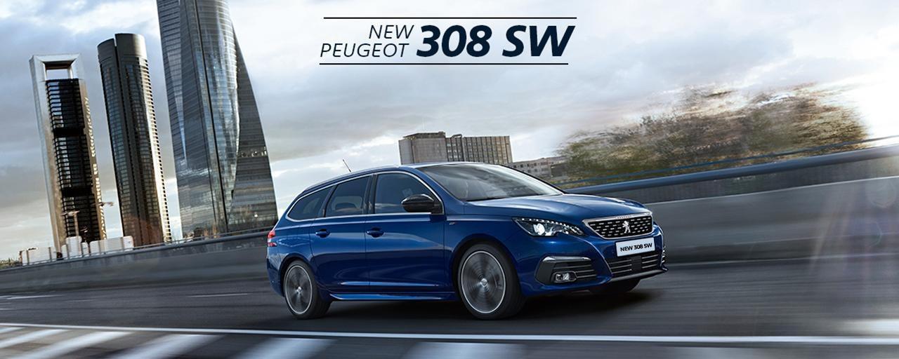 New Peugeot 308 SW 2017