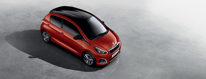 Peugeot 108 - Elegant design, raised view
