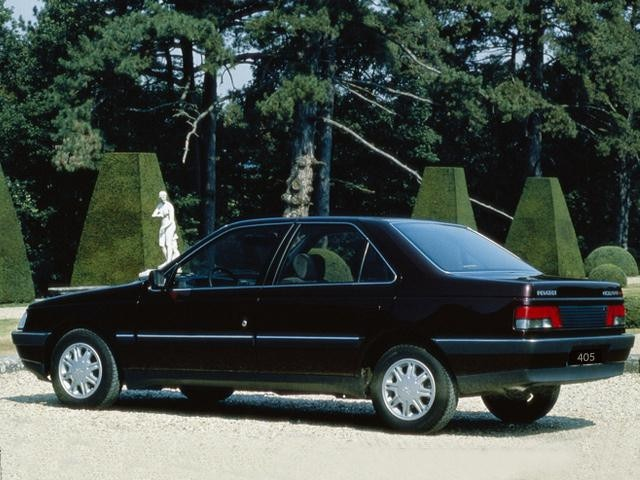 peugeot 405 past model