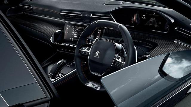 New 508 Fastback - Interior Design