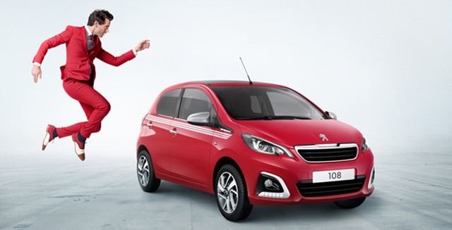 Peugeot 108 Collection red