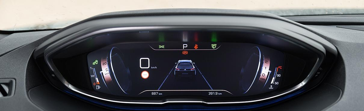 Peugeot i-Cockpit digital display