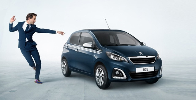Peugeot 108 Collection Blue