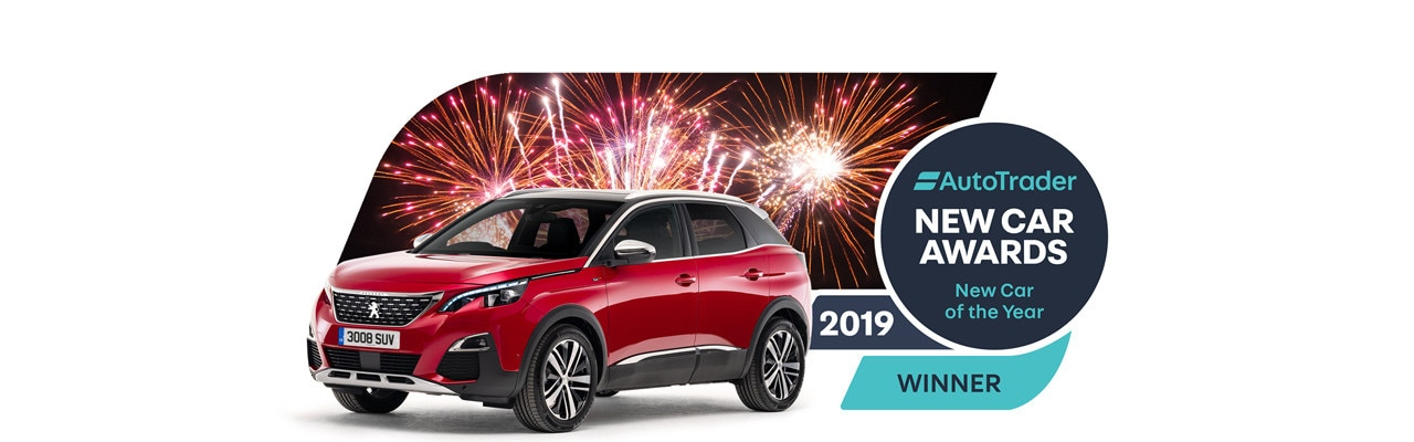 3008 SUV awarded 'New Car of the Year'