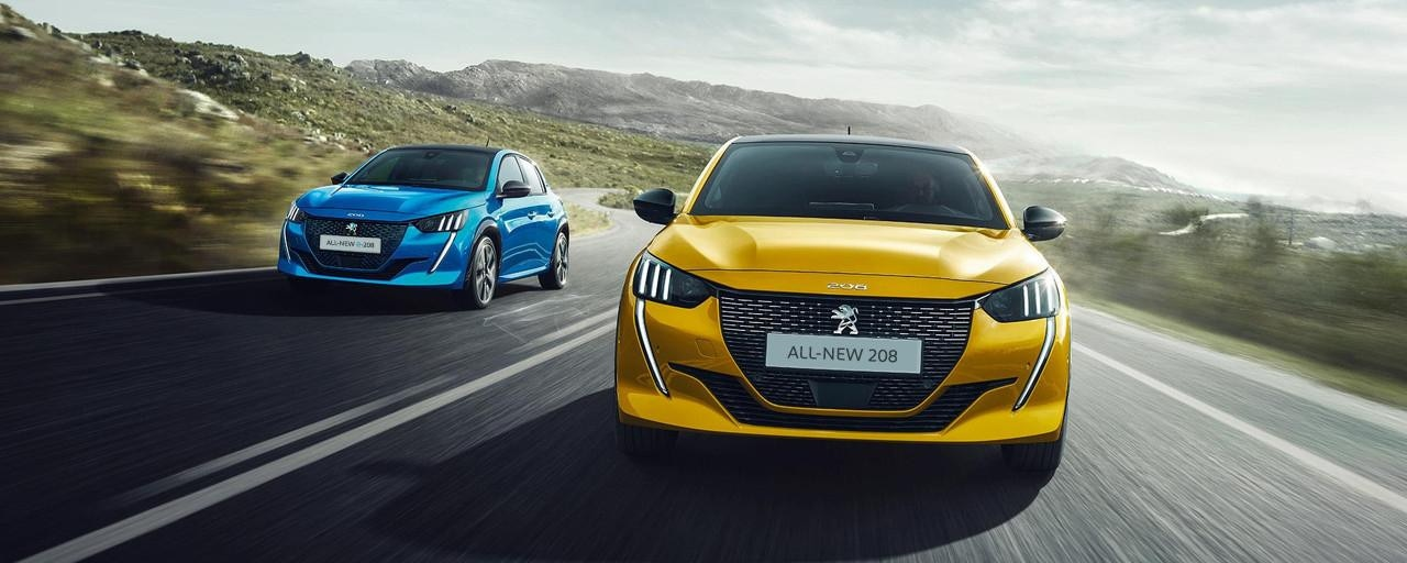 NEW PEUGEOT 208 – New expresive front end