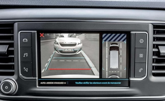 PEUGEOT Traveller: Rearview camera