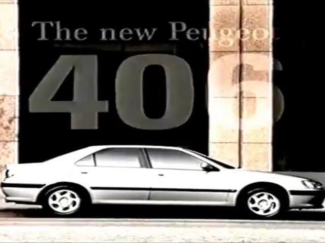 Peugeot 406 advert