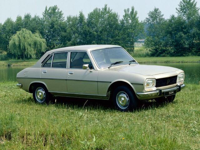 peugeot 504 | past models