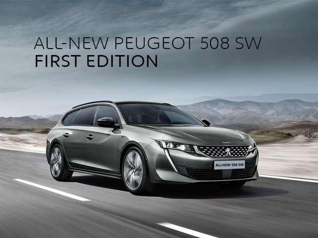 New Peugeot 508 SW First Edition