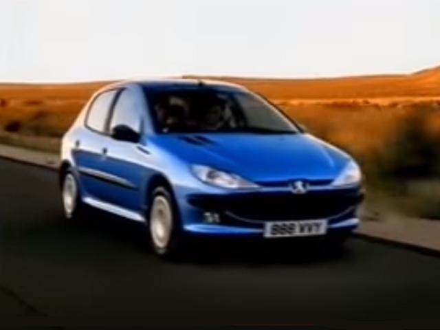 Peugeot 206 advert