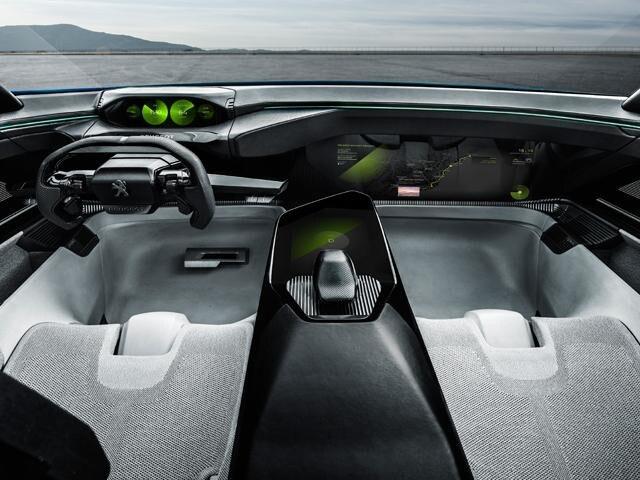Peugeot Instinct concept i-Cockpit