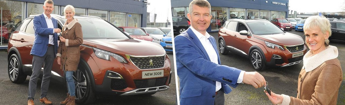 Peugeot 3008 and Judy Murray news header