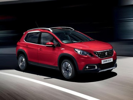 Peugeot 2008 SUV red