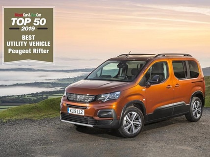All-new PEUGEOT Rifter is 'Best Utility Vehicle'