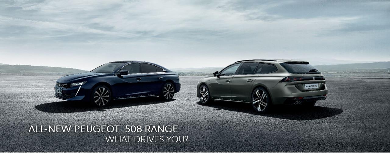 All-new Peugeot 508 - Range