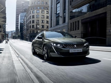 Test-drive the all-new 508 SW
