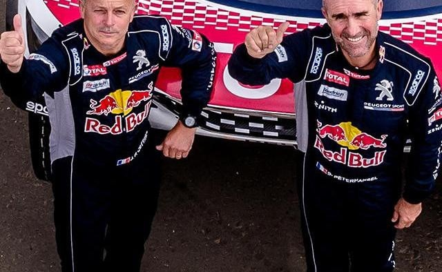 Peterhansel Cottret Peugeot DAKAR
