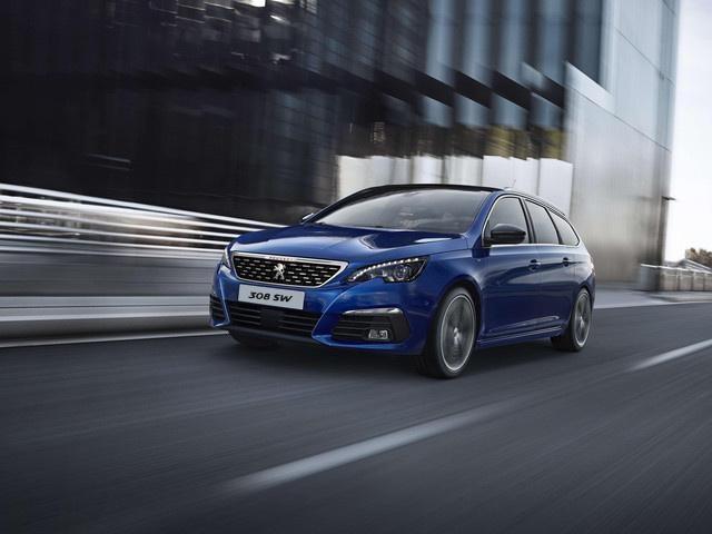 Peugeot 308 SW blue