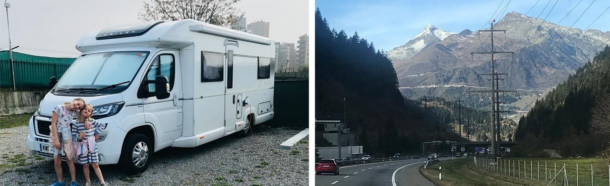 Travelling in a Peugeot Motorhome