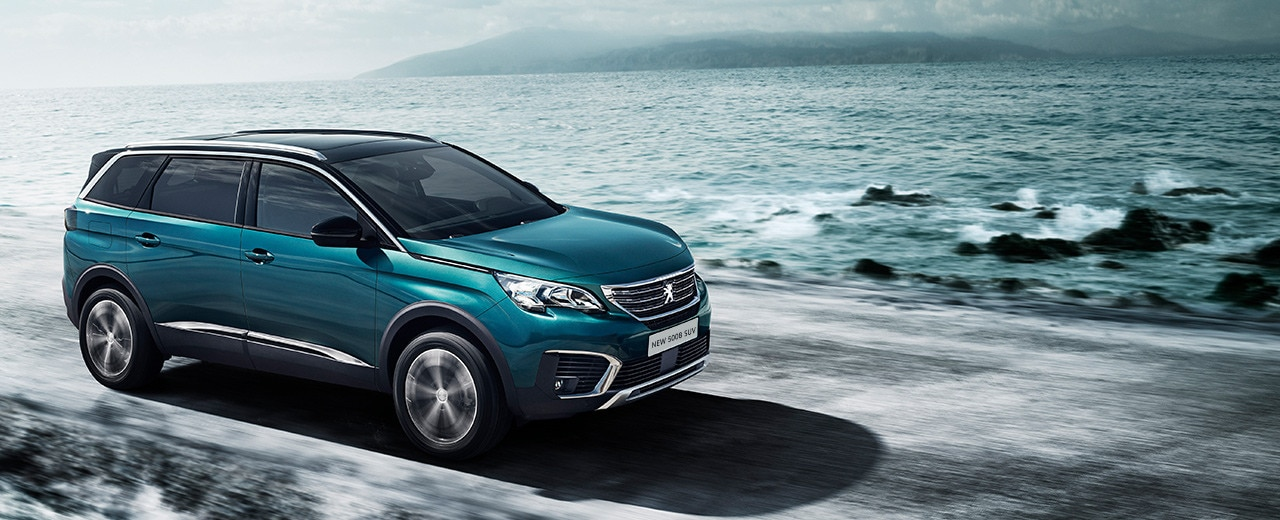 Peugeot all-new 5008 SUV