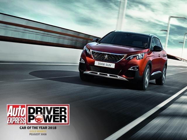 Peugeot 3008 SUV Car of the Year 2018 Award
