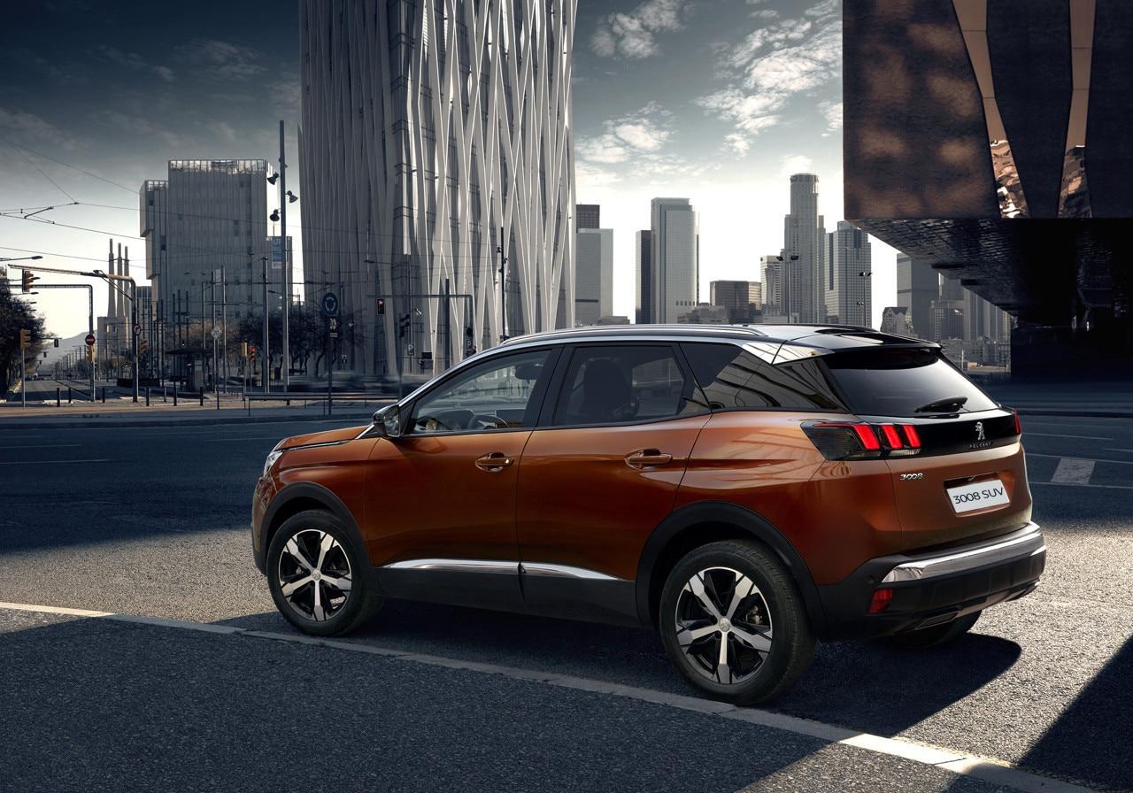 All New Peugeot Suv Peugeot Uk