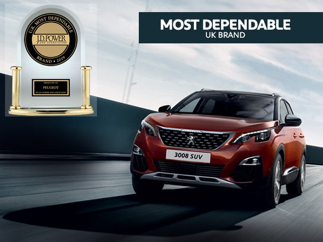 Peugeot 3008 SUV - J D Power awards
