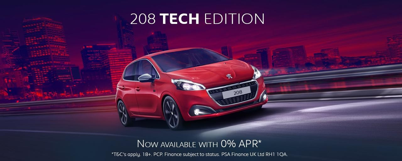 Peugeot 208 Tech Edition - Offer