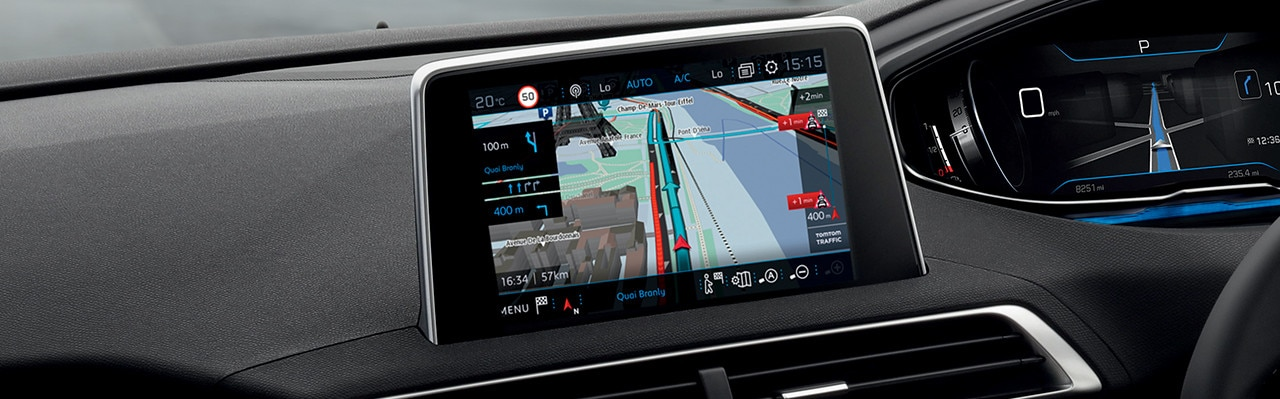 Embedded 3D GPS : connected navigation in your car