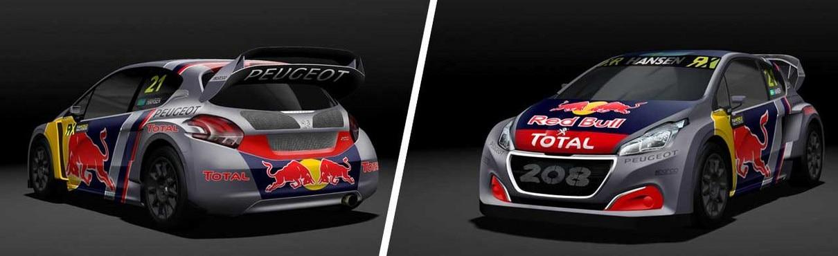New Peugeot 208 WRX