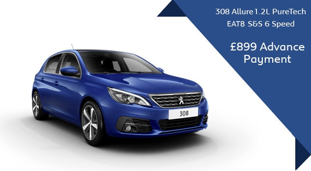 Peugeot 308 - Motability - Automatic offer