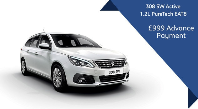 Peugeot 308 SW - Motability - Automatic offer