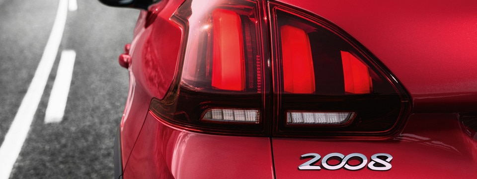 Peugeot 2008 SUV rear light