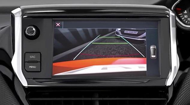 Peugeot 208 Allure Premium Reversing Camera